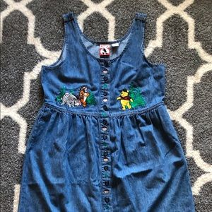 Full-length, Jean, Winnie the Pooh dress